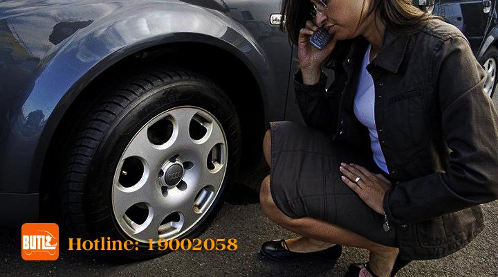 Nổ Lốp xe | Nổ lốp bánh xe | BUTL Dịch Vụ Cho Thuê Tài Xế.