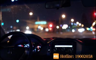 Lái xe ban đêm   Nổ lốp bánh xe   BUTL Dịch Vụ Cho Thuê Tài Xế.