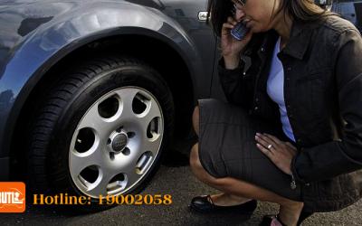 Nổ Lốp xe   Nổ lốp bánh xe   BUTL Dịch Vụ Cho Thuê Tài Xế.